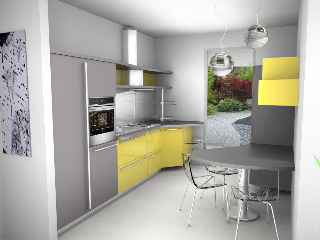 Come progetto la cucina cose di casa - Cucine piccoli spazi ...