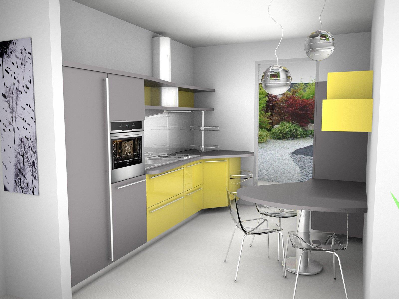 Cucine Moderne Piccoli Spazi VU72 ~ Pineglen
