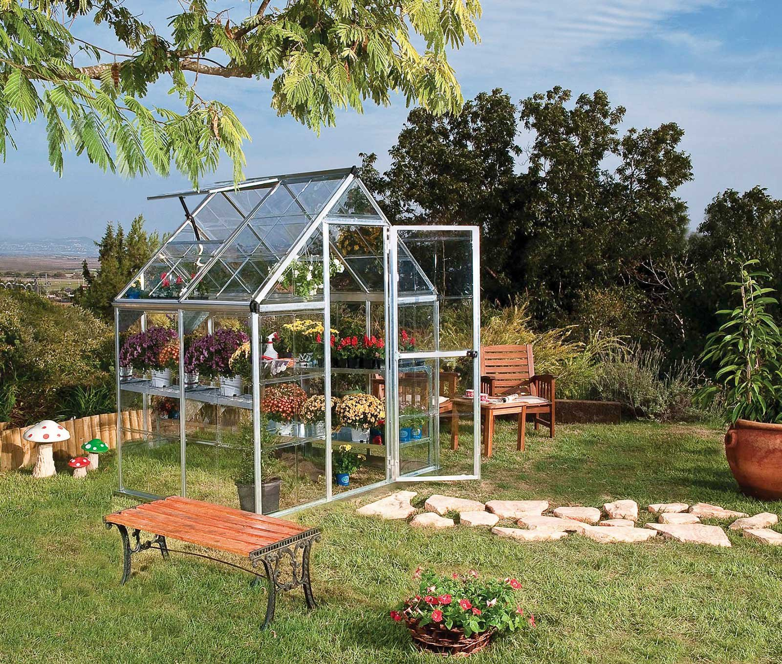 proteggere le piante dal freddo serre e serrette cose