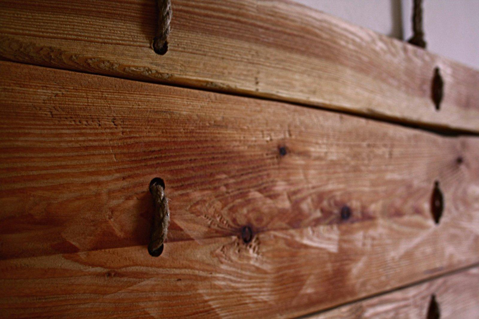 Letto low cost con la testiera fai da te cose di casa - Testiera letto legno ...