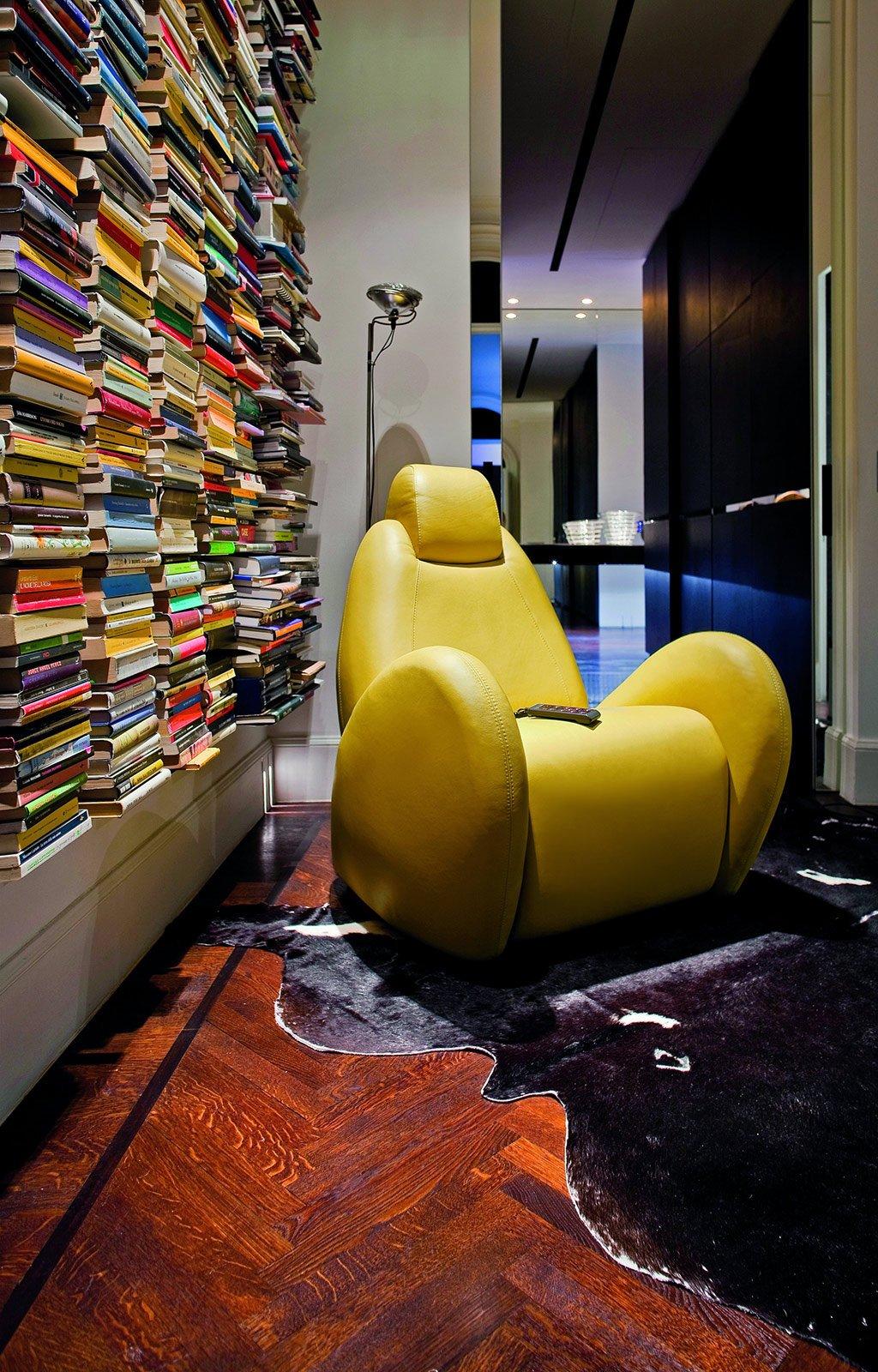 Poltrone in pelle cose di casa for Poltroncine salotto design