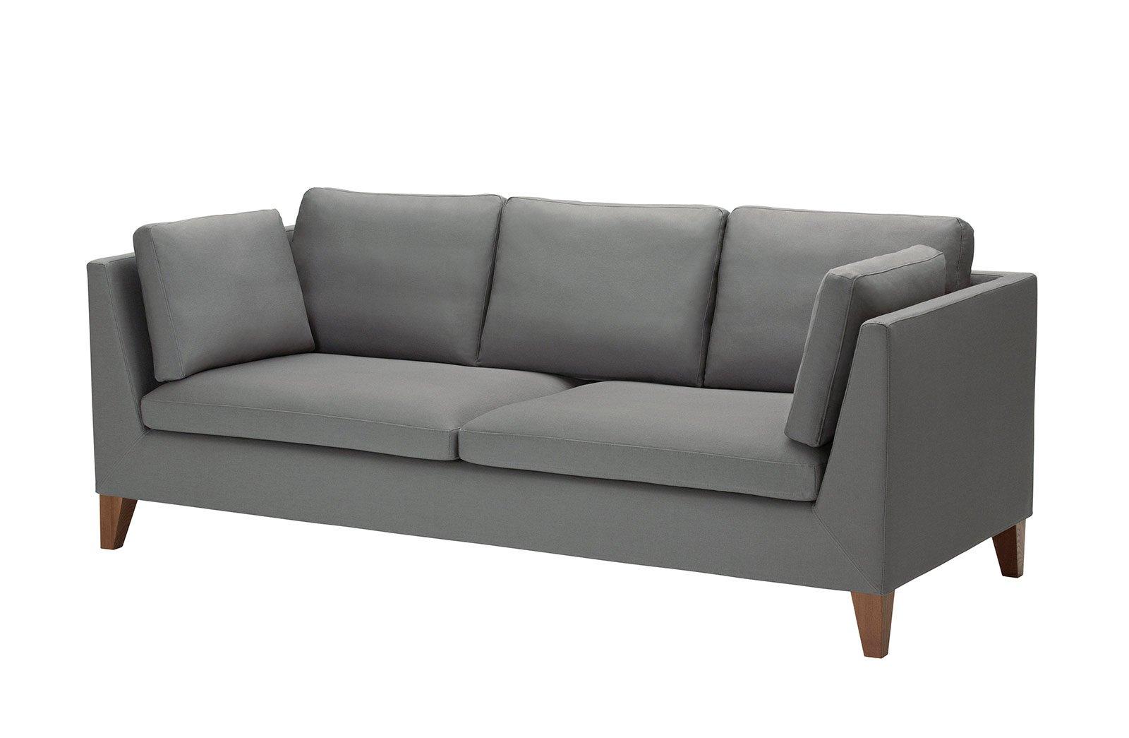Divano scuro con quali accessori lo ravvivo cose di casa - Imbottitura cuscini divano ikea ...