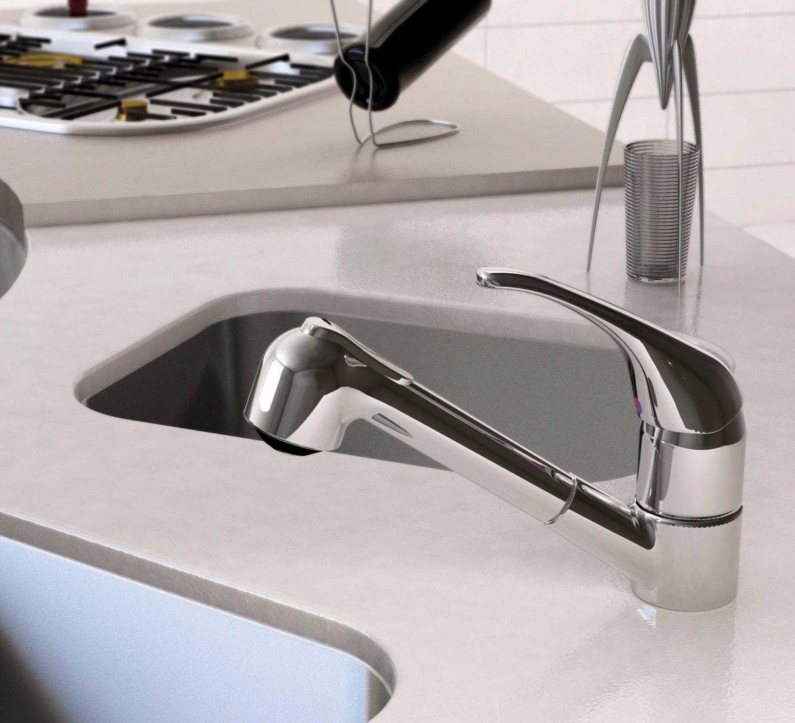 Cucina rubinetti per il lavello cose di casa - Rubinetto cucina ideal standard ...