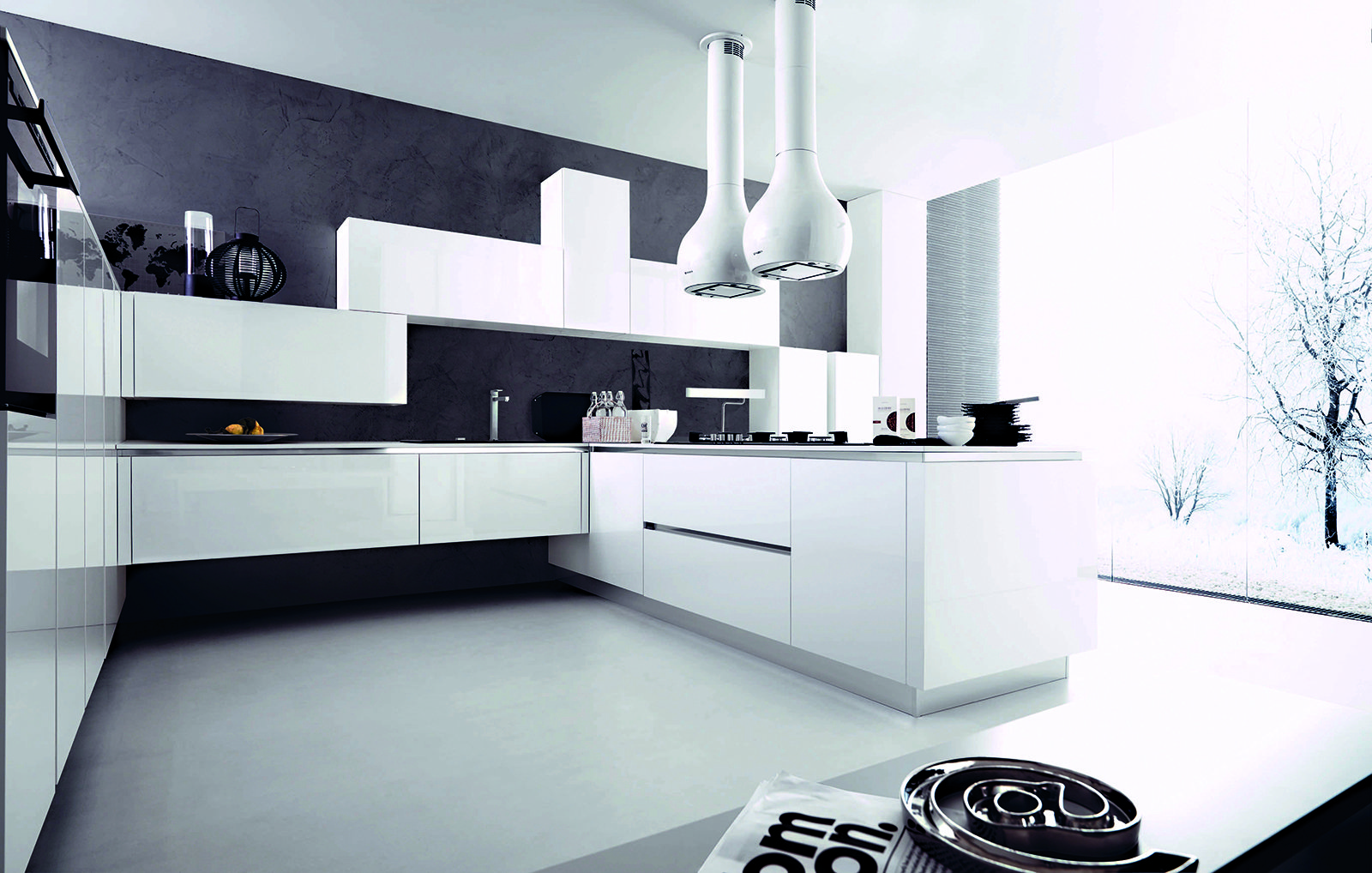 Cucine Moderne Con Soggiorno – PasIOnwE