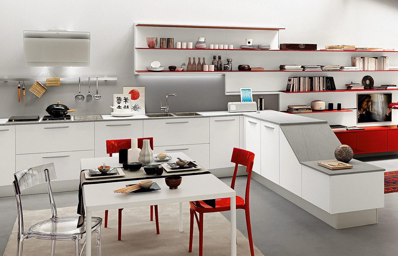 Emejing Mensole Cucina Moderna Pictures - Home Interior Ideas ...