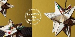 Origami: stelle di carta per decorare il tuo Natale
