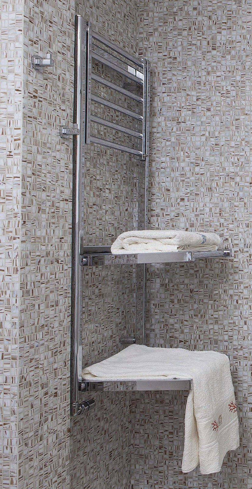 Bagno con pianta del progetto e costi dei lavori seconda - Scaldasalviette da bagno ...