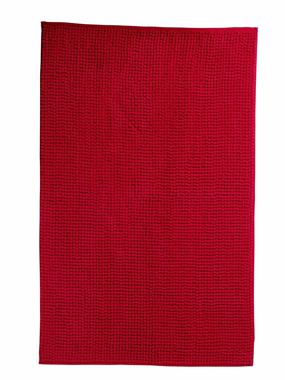 Bagno rosso per piastrelle sanitari complementi cose di casa - Tappeto bagno rosso ...