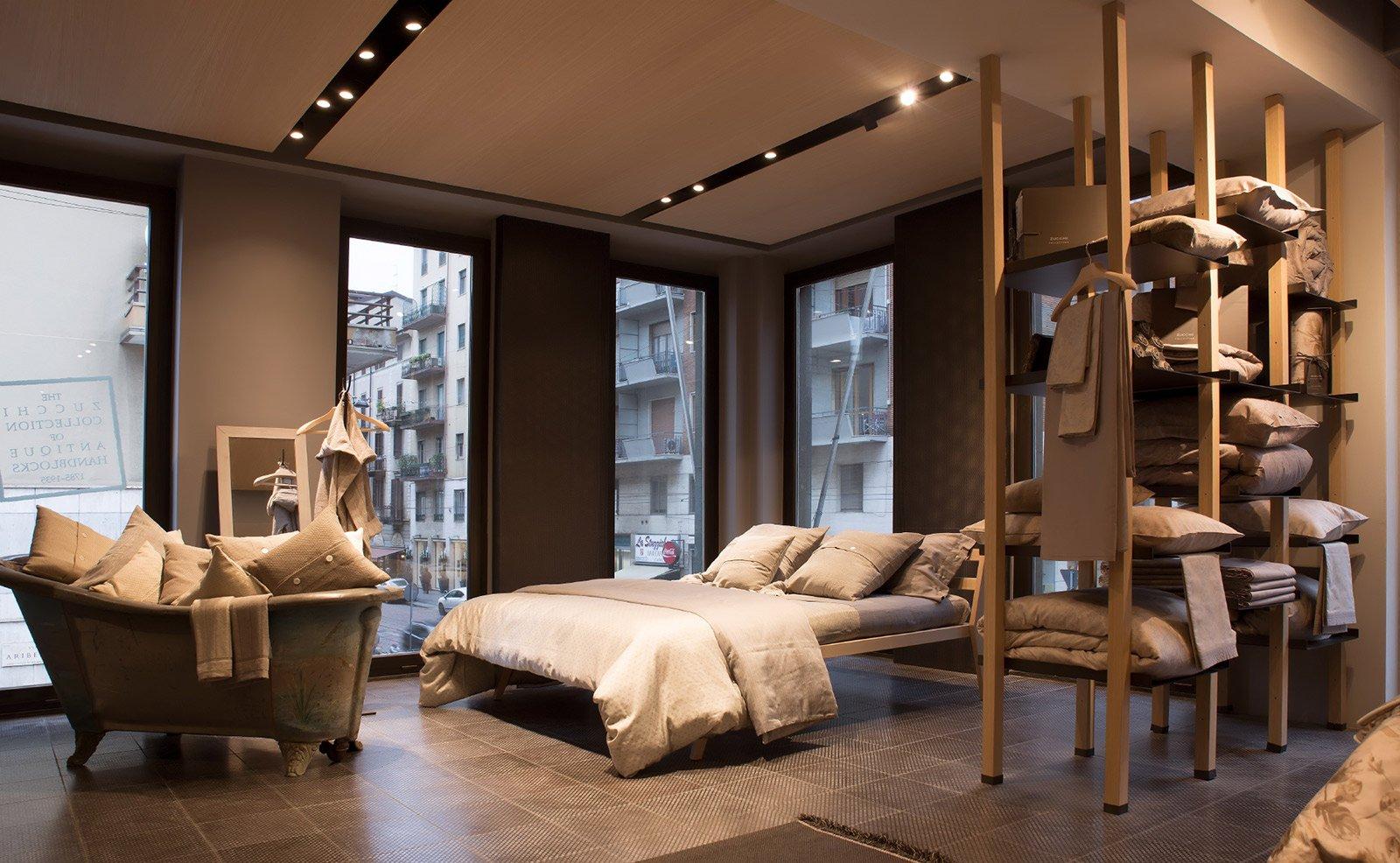 Zucchi home fashion il nuovo showroom di corso genova a milano cose di casa - Fiera biancheria per la casa ...