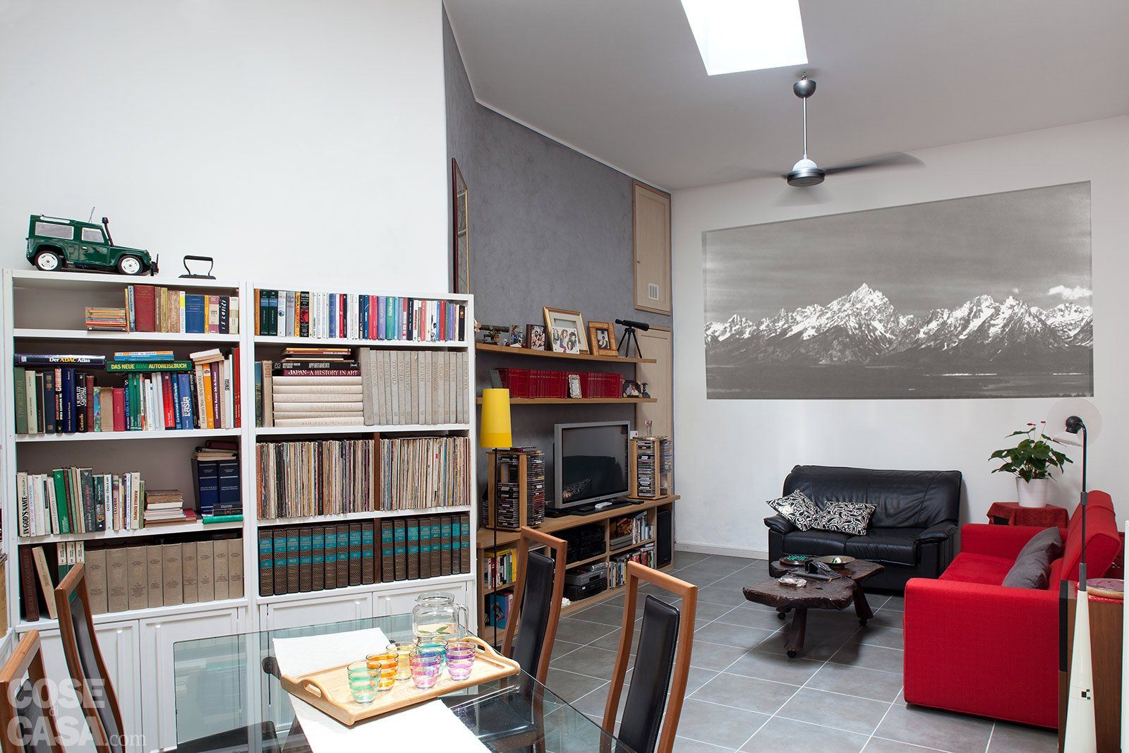 esempi cartongesso cucina soggiorno: illuminazione di un soggiorno ...