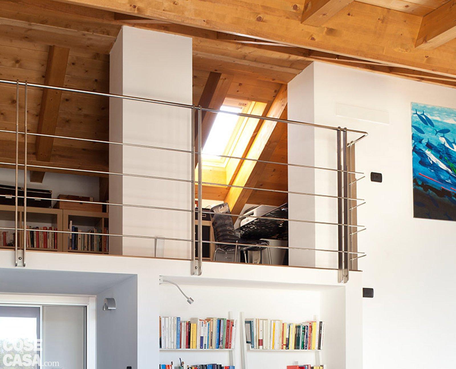 Sottotetto da agibile non abitabile a mansarda in cui for Arredamento per sottotetto
