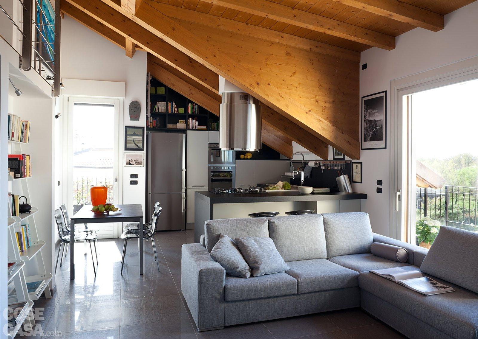 90 10 mq per una casa che sfrutta bene gli spazi cose di - Soluzioni di arredo per soggiorni ...