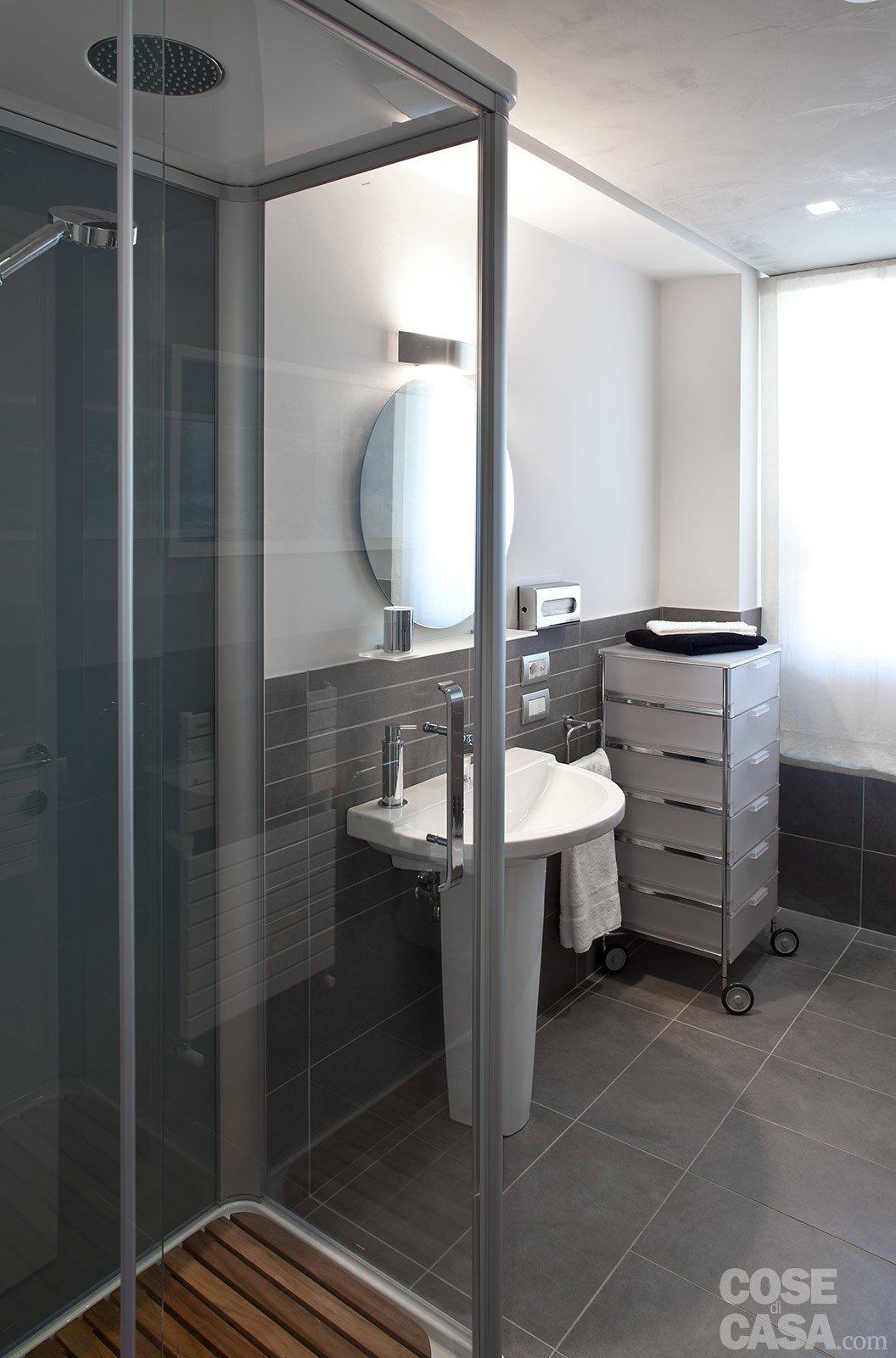 85 mq una casa per una famiglia giovane cose di casa - La casa del bagno ...