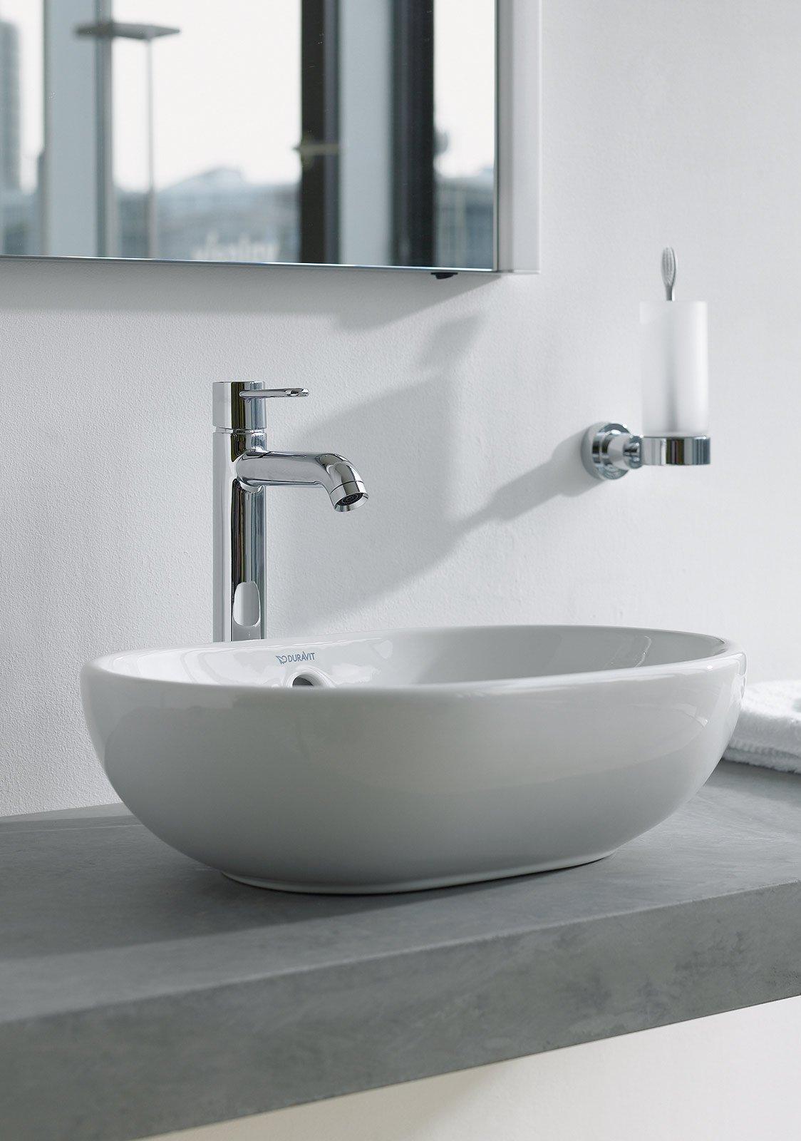 Lavabi sospesi e da appoggio cose di casa - Lavello bagno appoggio ...
