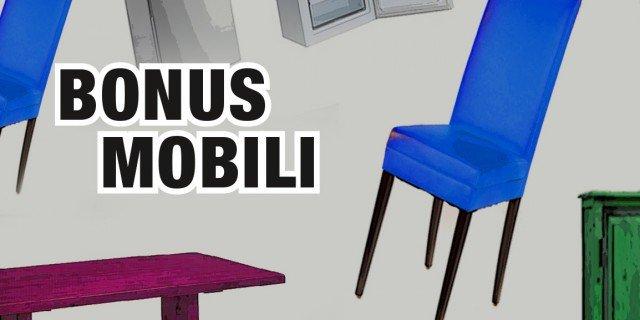Bonus mobili. La possibilità di un nuovo vincolo