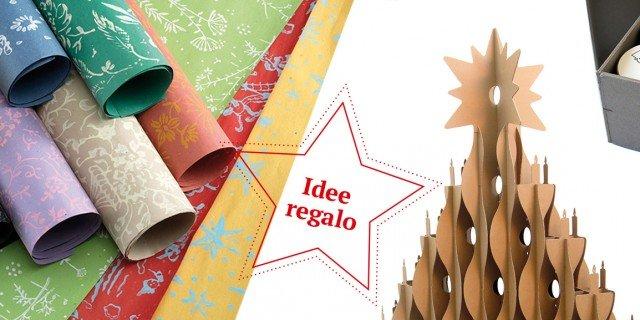 Decorazioni o regali di natale in carta riciclata cose for Case di tronchi economici da costruire