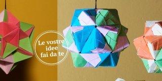 Decorazioni di Natale origami