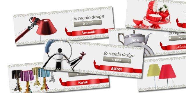 """Questo Natale… """"Io regalo design""""!"""