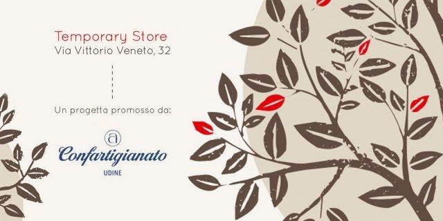 Temporary Expo Store di artigianato a Udine