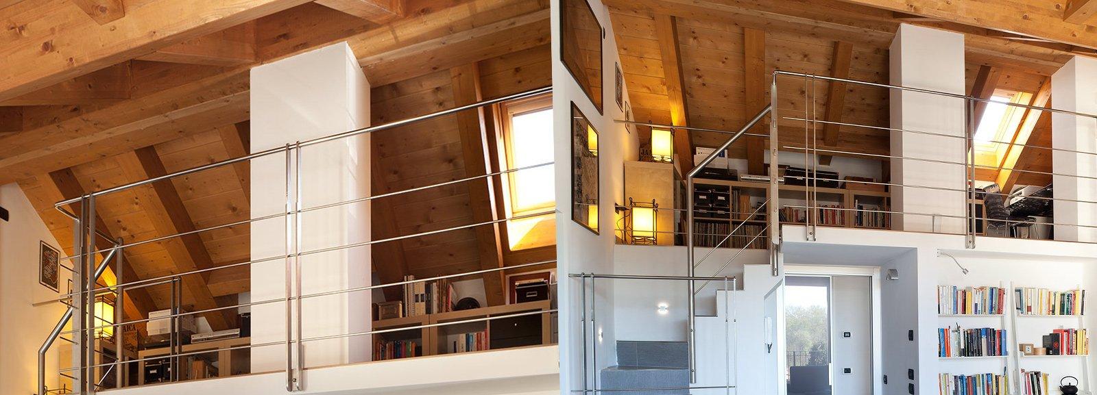 Recuperare il sottotetto alzando la copertura cose di casa - Alzare il tetto di casa ...