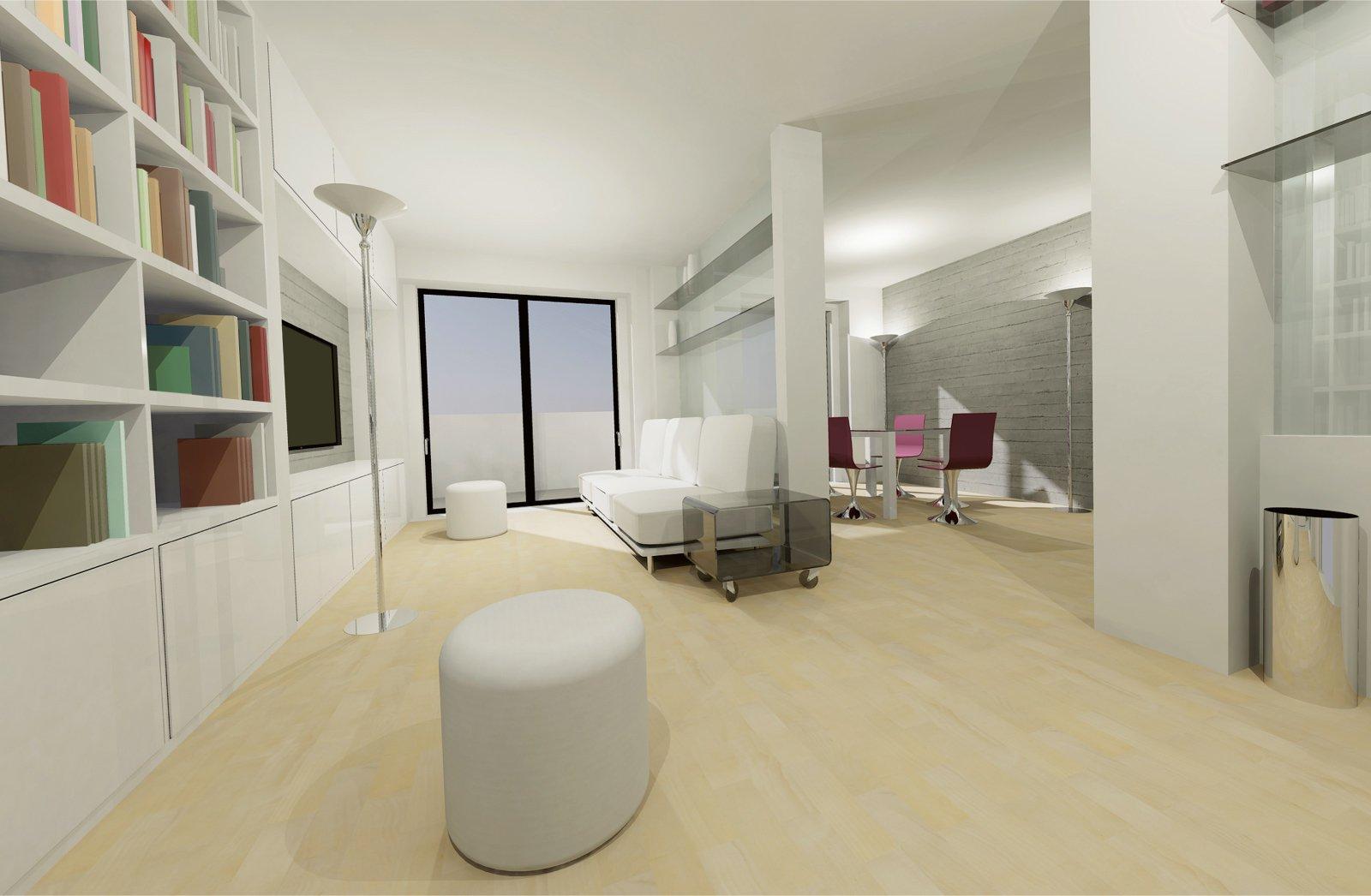 70 mq ma sembrano di pi cose di casa for Piccoli piani cabina con soppalco e veranda