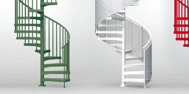 Scala a chiocciola questioni di diametro cose di casa - Cancelletti per scale a chiocciola ...