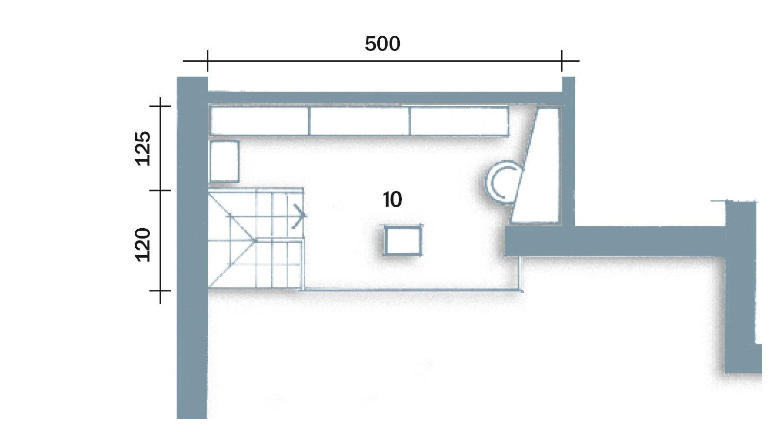 90 10 mq per una casa che sfrutta bene gli spazi cose di for Soppalco d arredo normativa