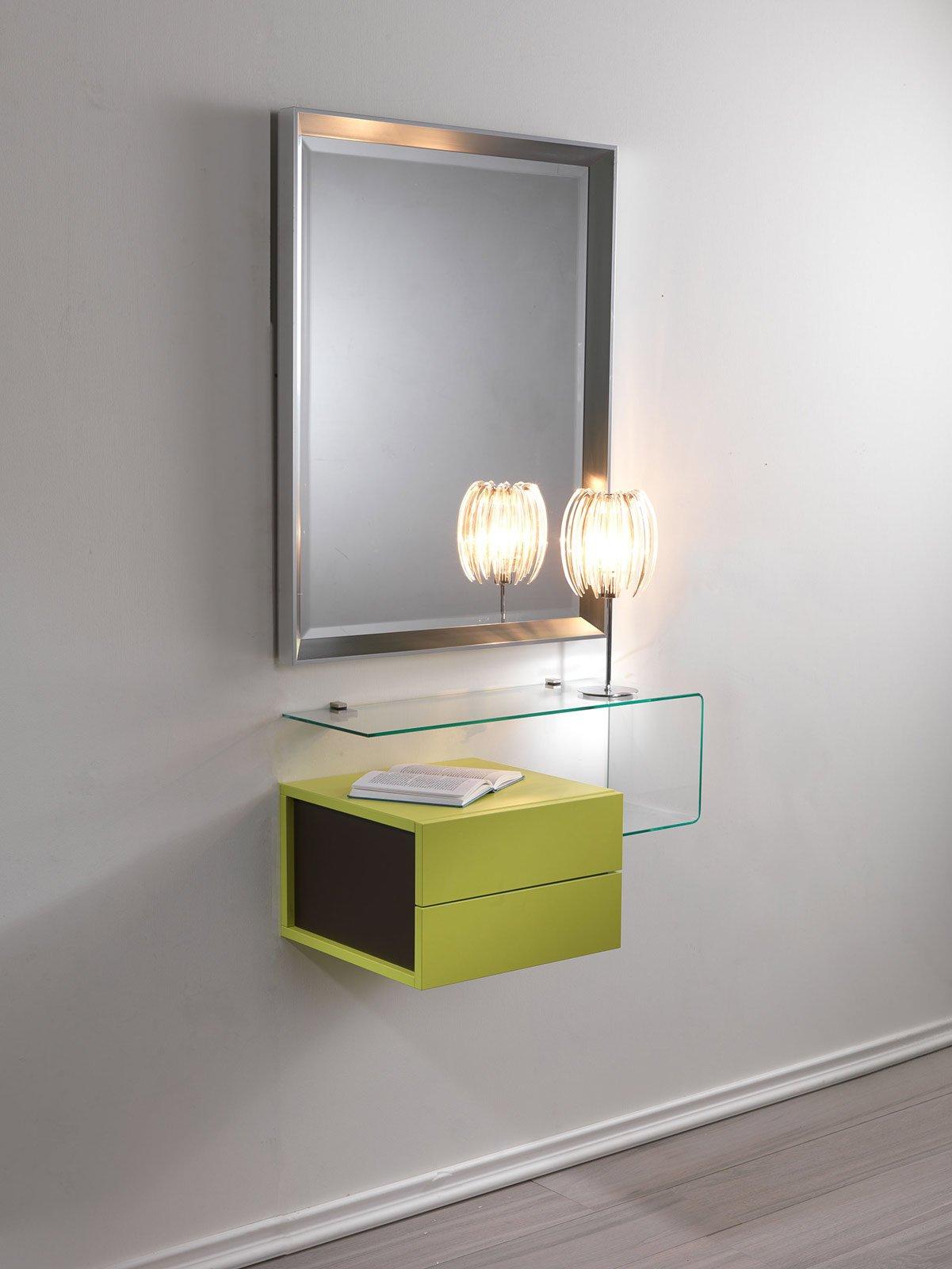 Hai poco spazio scegli la console cose di casa for Mensole alluminio ikea