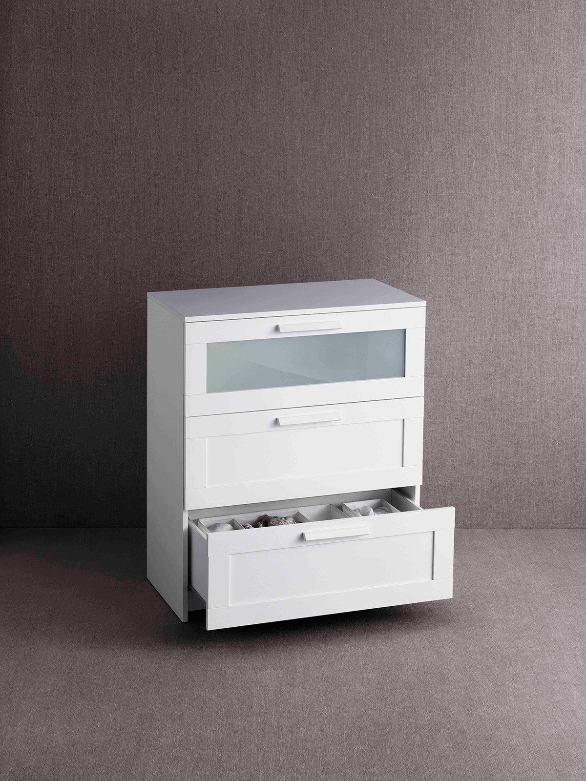 Cassettiere per tutti gli spazi cose di casa - Organizer bagno ikea ...