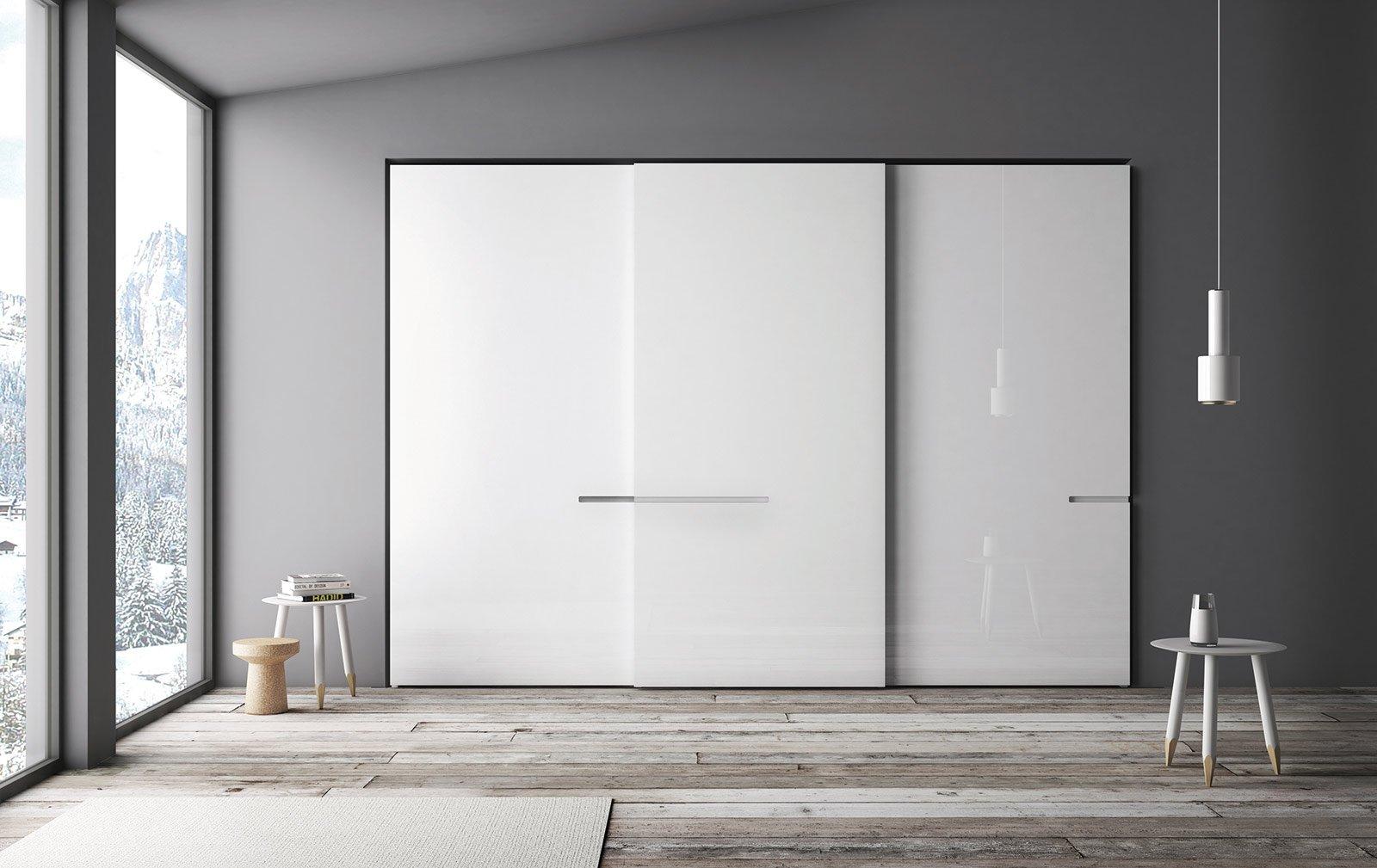 armadi total white - cose di casa - Ampio Armadio Allinterno Idee Progettuali