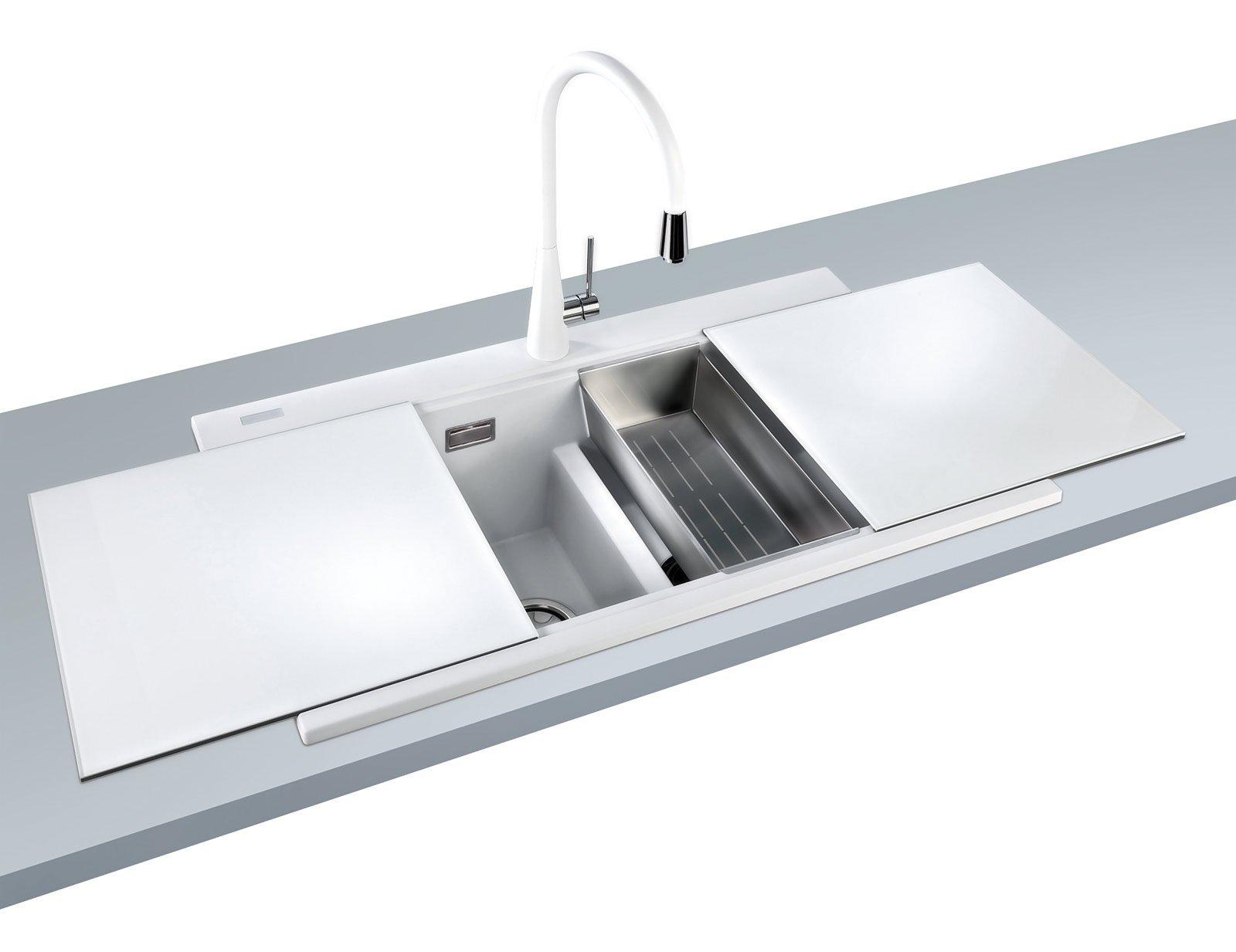 Lavelli come sceglierli cose di casa - Lavello cucina resina ...