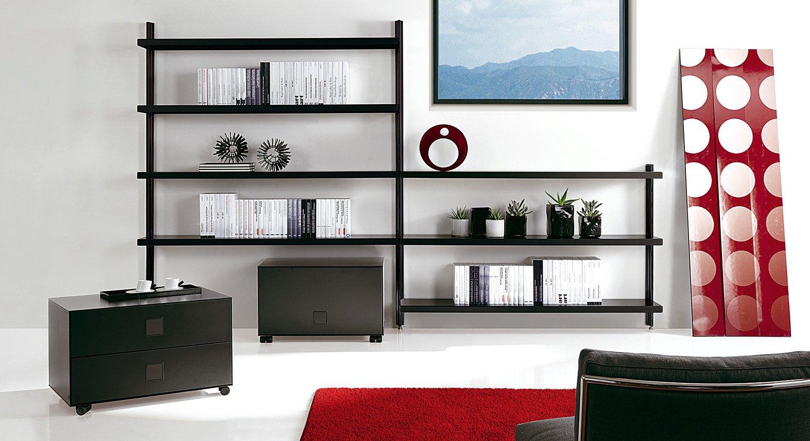 Librerie grande o piccola cose di casa for Mensole in alluminio