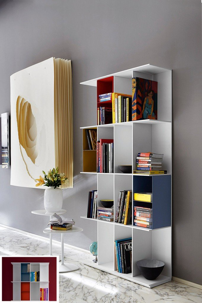 Librerie grande o piccola cose di casa for Librerie componibili calligaris