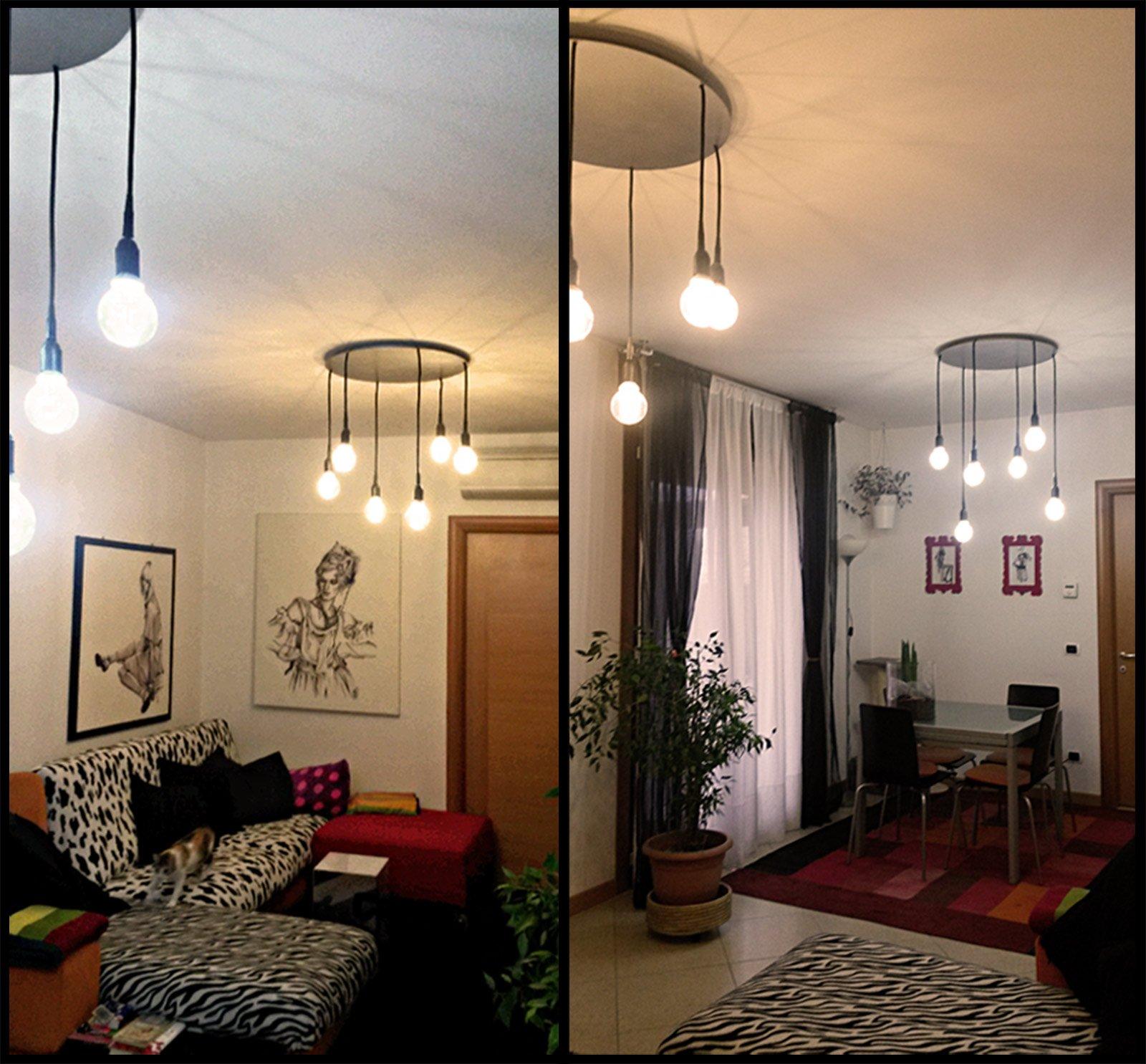 Lampadario a sospensione low cost   Cose di Casa -> Lampadari Moderni Per Mansarde