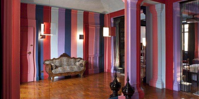 Una casa personalizzata con il colore. Guarda il video