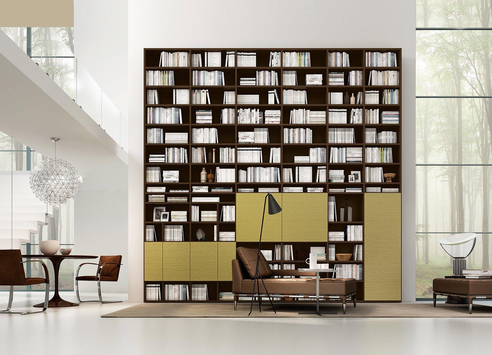 Librerie grande o piccola cose di casa for Grandi progetti di mobili standard