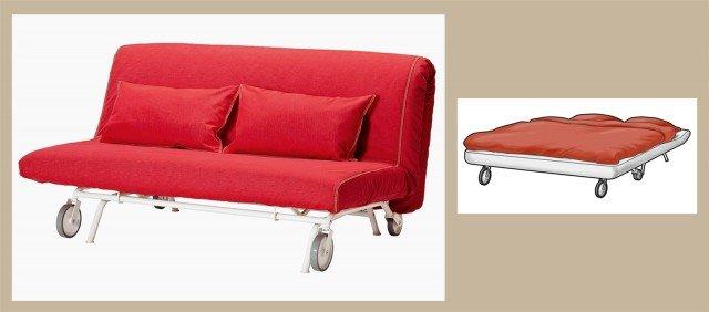Divano o letto imbottiti trasformabili cose di casa - Rivestimento divano costo ...