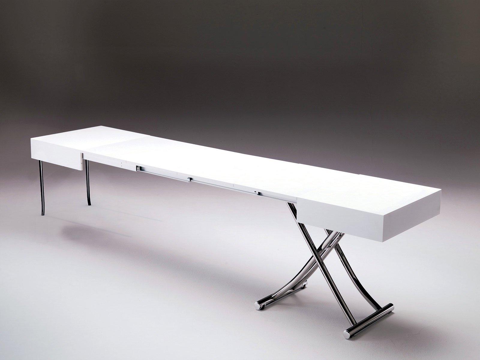Piano Passa Da 120 Cm Per Arrivare Fino A 320 Cm. Nel Tavolo Magnum Di  #5E5553 1600 1200 Tavoli Da Pranzo Di Marca