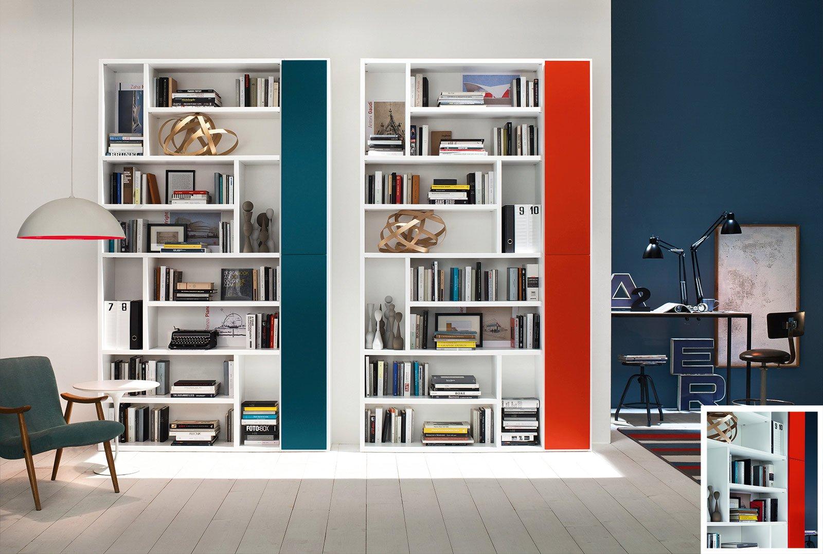 ... Una libreria misura L 153 x P 35 x H 241 cm. Prezzo 2.008 euro. www