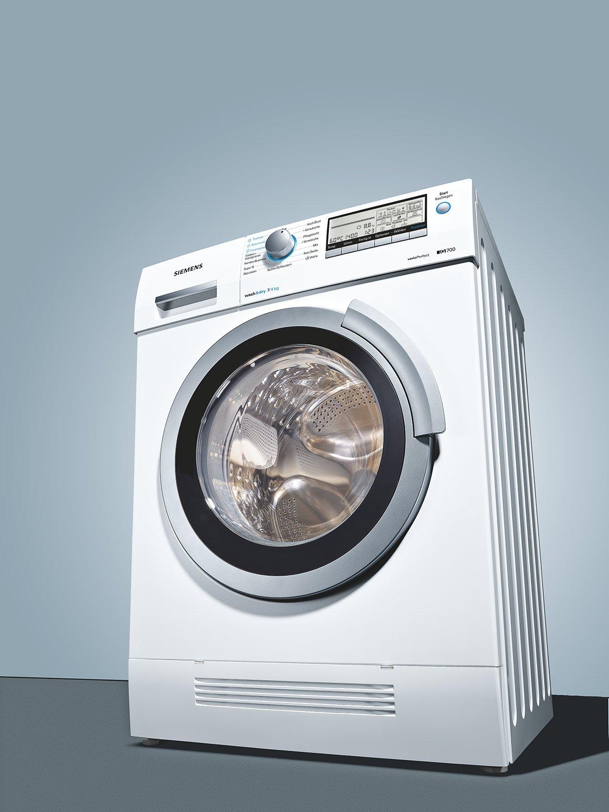 Appartiene Alla Serie IQ700 La Lavasciuga WD14H540IT Di Siemens, Che  Funziona Con Tecnologia Di Condensazione