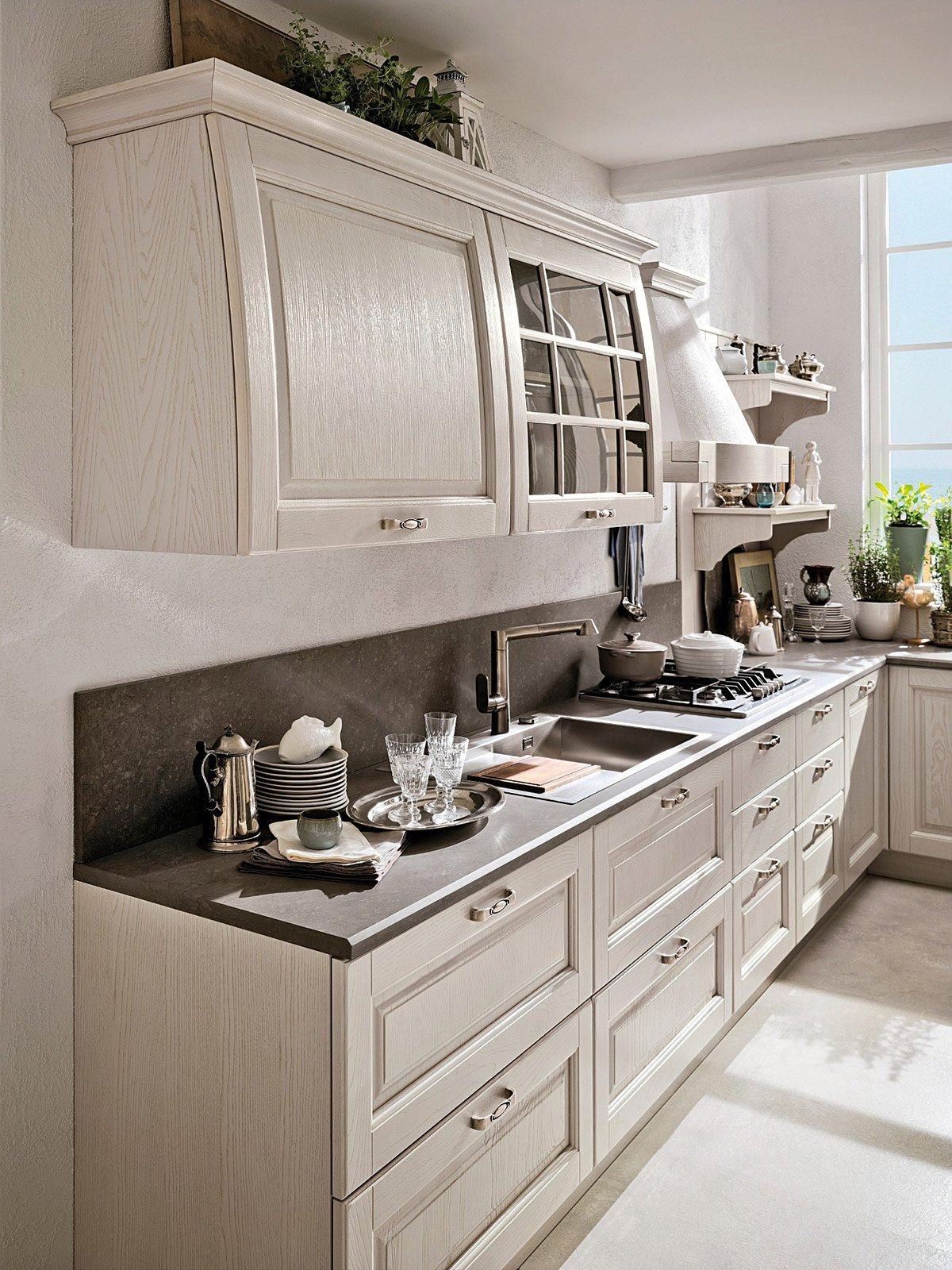 Cucine country stile tradizionale o new classic cose di casa - Profondita pensili cucina ...