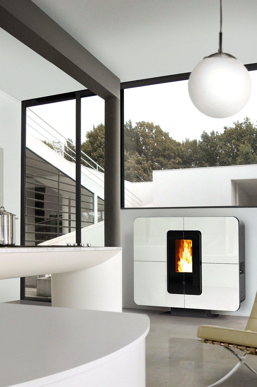 Stufe a pellet d 39 arredo ecologiche cose di casa - Stufe a pellet design ...