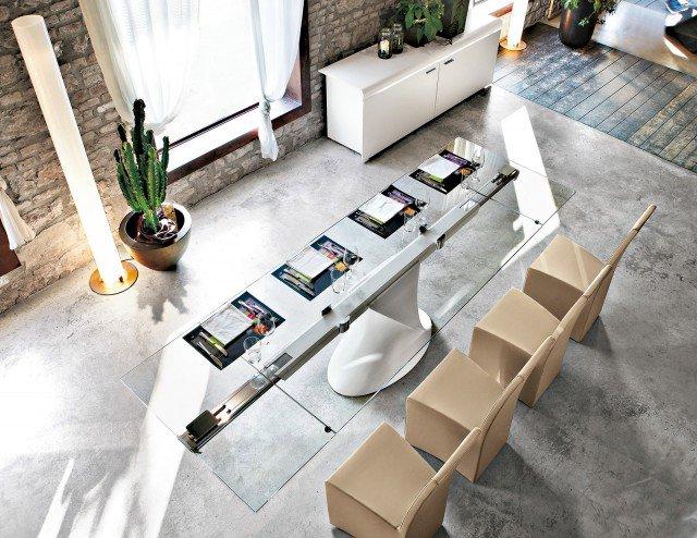 Tavoli maxi per arredare la zona pranzo cose di casa - Dimensioni tavolo biliardo casa ...