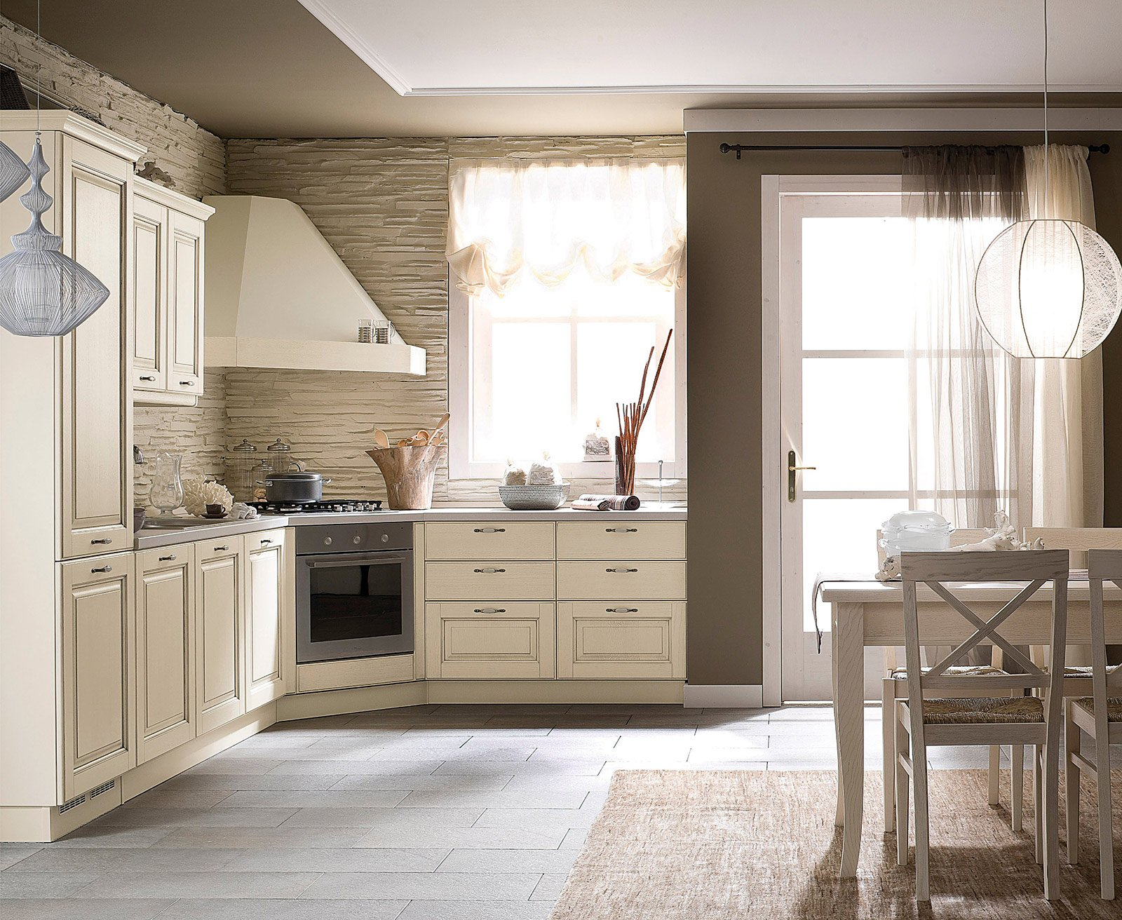 Awesome Piastrelle Per Cucina Moderna Bianca Pictures - Ideas ...