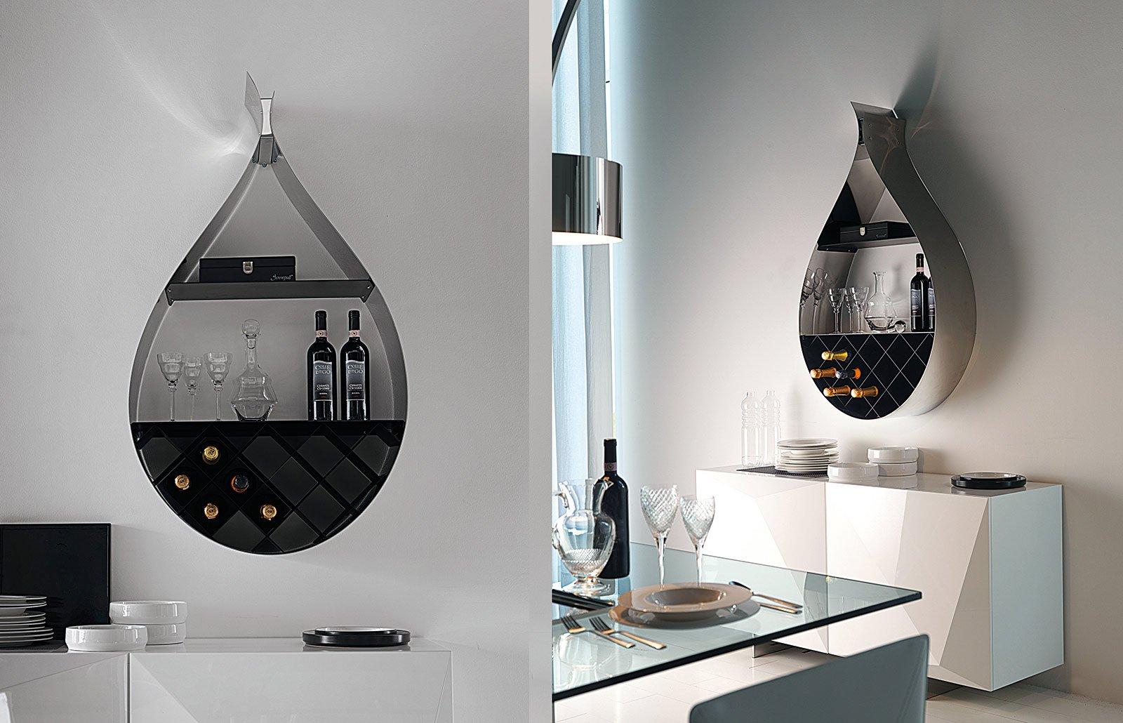 Cantinette per la tua enoteca privata cose di casa - Porta vini da parete ...