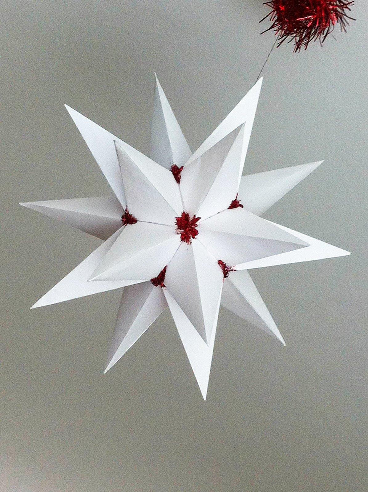 Popolare amelia-ghio-fai-da-te-stella-bianca - Cose di Casa II46