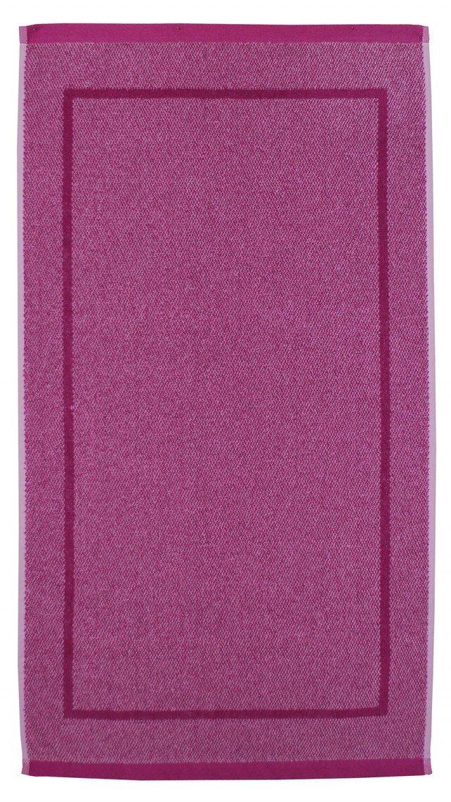 È in cotone 100% da 900 gr/m² il tappeto bagno Melange della collezione Spugnissima di Caleffi. Disponibile nei colori ciclamino, blu, naturale, antracite e caffè. Misura L 90 x P 50 cm. Prezzo 15 euro. www.caleffionline.it