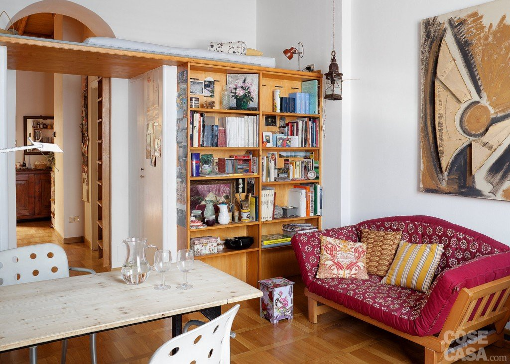 Bilocale di 40 mq una casa fai da te cose di casa for Piccoli mobili per soggiorno