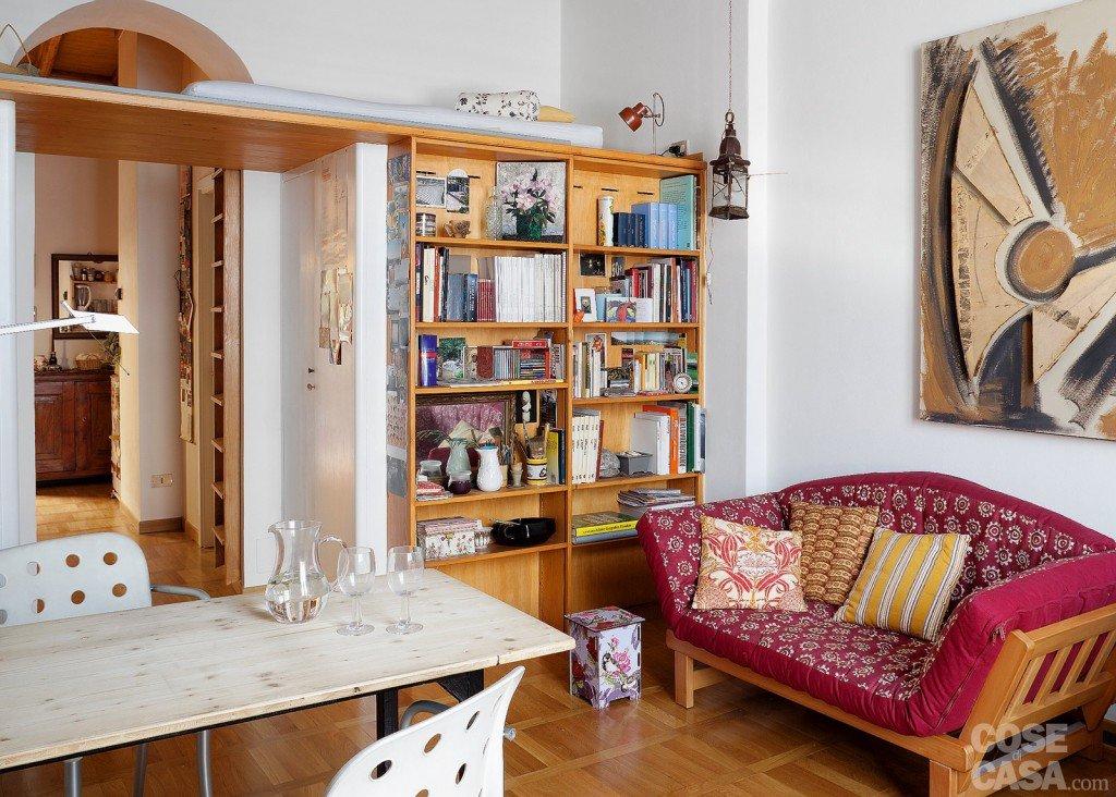 Bilocale di 40 mq una casa fai da te cose di casa for Idee originali per arredare appartamenti