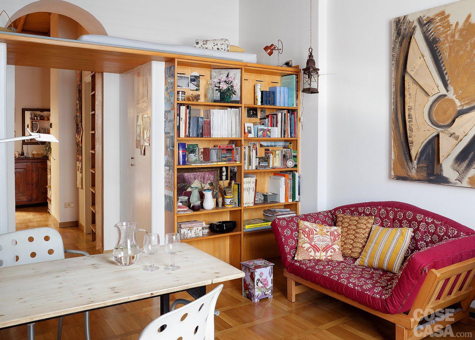 Bilocale di 40 mq, una casa fai da te - Cose di Casa